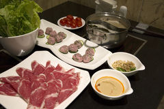 Chinese hot pot Royalty Free Stock Photos