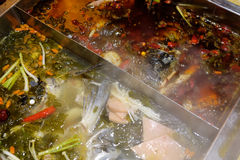 Chinese hot pot Stock Image