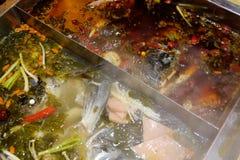 Chinese hot pot Stock Image