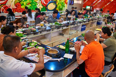 Chinese Hot pot restaurant Beijing China Royalty Free Stock Images