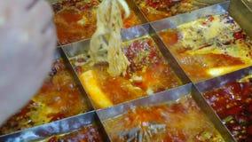 Chinese hot pot Royalty Free Stock Photos