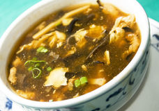 Chinese hot and sour soup Royalty Free Stock Images