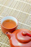 Chinese Hot Tea. Royalty Free Stock Photos
