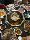 Chinese hotpot royalty free stock photography