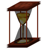 Chinese hourglass with honey Royalty Free Stock Photography