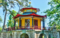 Chinese house of Cassan in L Isle Adam Stock Image
