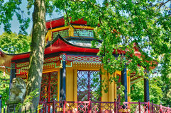 Chinese house of Cassan in L Isle Adam Royalty Free Stock Photos