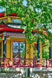 Chinese house of Cassan in L Isle Adam Royalty Free Stock Images