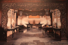 Chinese house decoration and furniture Royalty Free Stock Photos