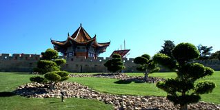 Chinese house Stock Photo