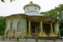 Chinese House pavilion Royalty Free Stock Images