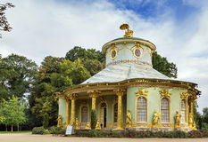 Chinese House, Potsdam, Germany. The Chinese House is a garden pavilion in Sanssouci Park in Potsdam, Germany Royalty Free Stock Images
