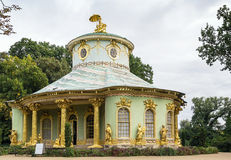 Chinese House, Potsdam, Germany. The Chinese House is a garden pavilion in Sanssouci Park in Potsdam, Germany Royalty Free Stock Photos
