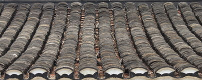 Chinese house roof Royalty Free Stock Photo