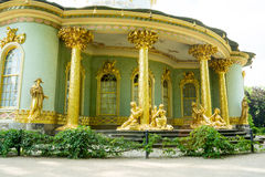 Chinese house, Sanssouci. Potsdam. Germany. The Chinese House is a garden pavilion in Sanssouci Park in Potsdam, Germany Royalty Free Stock Photography