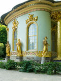 Chinese house, Sanssouci. Potsdam. Germany. The Chinese House is a garden pavilion in Sanssouci Park in Potsdam, Germany Stock Image