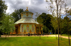 The Chinese house in the Sanssouci royal park in Potsdam Stock Photos