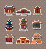Chinese house stickers Stock Photography