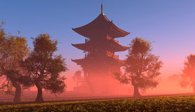 Chinese house Stock Photography
