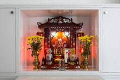 Chinese household shrine Royalty Free Stock Image