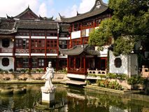 Chinese houses Royalty Free Stock Photo