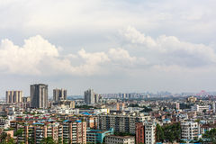 Chinese Housing Blocks. In guangzhou, china Royalty Free Stock Images