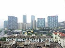 Chinese Housing Blocks Royalty Free Stock Image