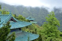 Chinese Hubei Wudang Mountains Royalty Free Stock Photography