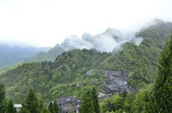 Chinese Hubei Wudang Mountains Royalty Free Stock Photos