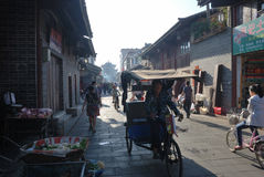Chinese huili old town Royalty Free Stock Photography