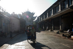 Chinese huili old town Royalty Free Stock Images
