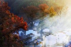 Chinese huizen Stock Afbeeldingen