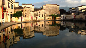 Chinese Huizhou architecture Stock Photography
