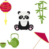 Chinese icons Royalty Free Stock Photo