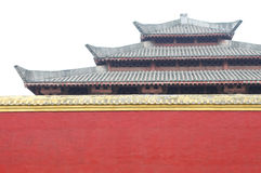 Chinese imperial architecture Royalty Free Stock Photo