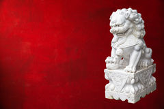Chinese Imperial Lion Royalty Free Stock Images