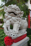 Chinese Imperial Lion or  Guardian Lion. Are a common representation of the lion in pre-modern China Stock Images