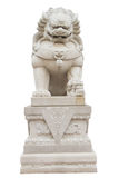Chinese Imperial Lion Statue Royalty Free Stock Photography