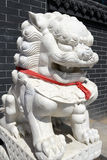 Chinese Imperial Lion Statue Royalty Free Stock Photos
