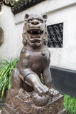 Chinese imperial lion Yuyuan garden shanghai china Royalty Free Stock Photos