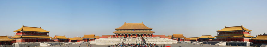 Chinese imperial Palace Royalty Free Stock Image