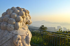 Chinese Imperial stone Lion Stock Image