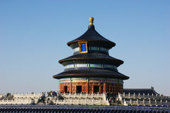 Chinese imperial Temple of Heaven Stock Images