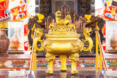 Chinese incense burner Royalty Free Stock Photography