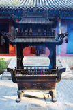 Chinese incense burner Royalty Free Stock Photo