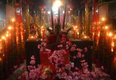 CHINESE-INDONESIAN RITUAL Stock Images