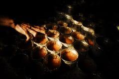 CHINESE INDONESIAN STICKY RICE CAKE stock photo