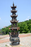 Chinese pagoda tower Royalty Free Stock Photo