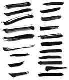 Chinese ink calligraphy brush Stock Photography