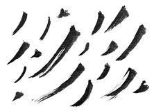 Chinese ink calligraphy brush Stock Photo